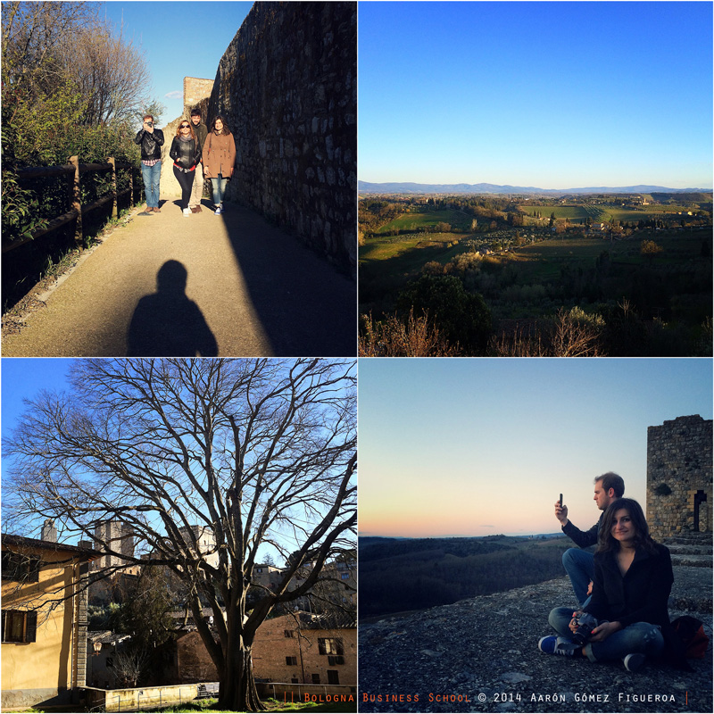 Student's Journal - Easter Trip in Tuscany, San Gimignano & Monteriggioni - Bologna Business School, Global MBA, Master in Business Management Made in Italy
