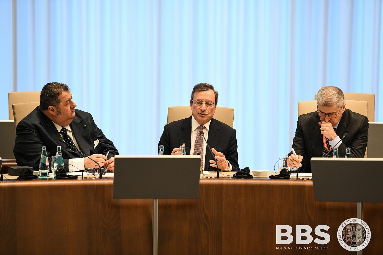Incontro con Mario Draghi, Presidente della BCE