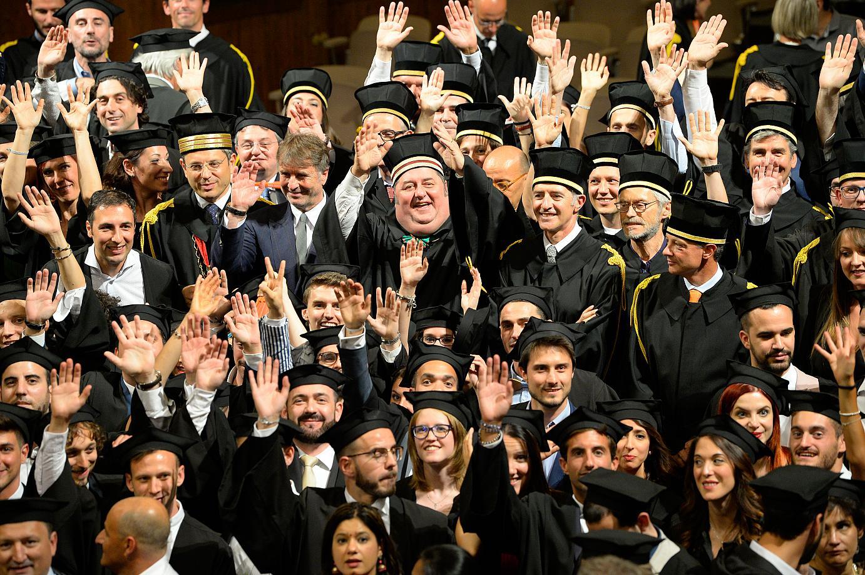 Graduation and Reunion 2017_Bologna Business School_Aula Magna Santa Lucia